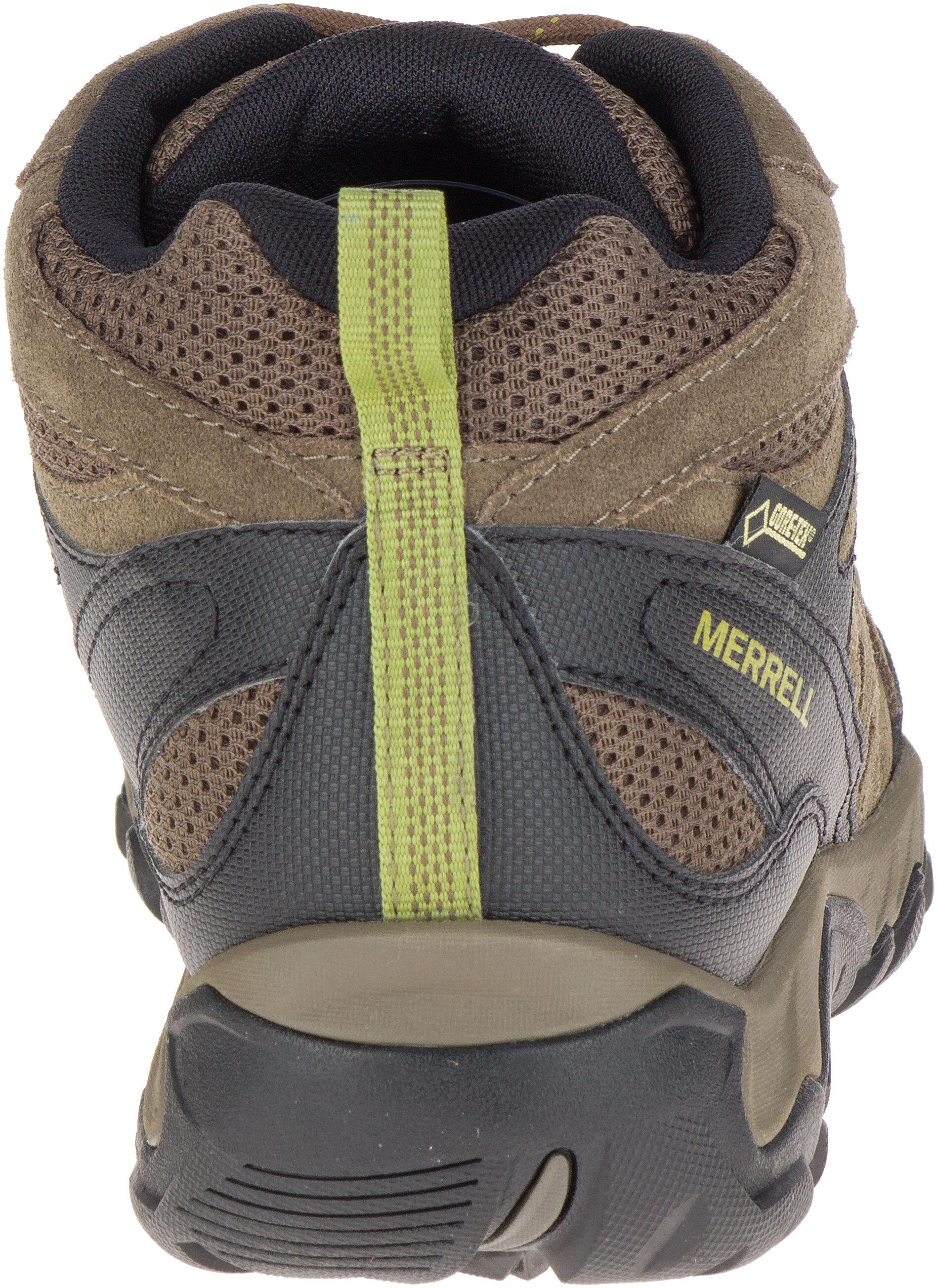 Merrell Outmost MID Vent GTX Scarpe Uomo marrone su Addnature.it a0386507a12